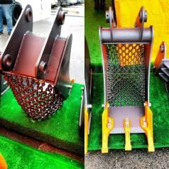 Ковш специальный траншейный цепной для экскаваторов-погрузчиков
