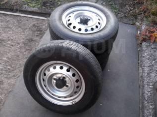 Продам комплект колес (4шт. ), резина легкогрузовая 165R13 6PR LT