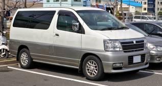 Порог кузовной Nissan Elgrand