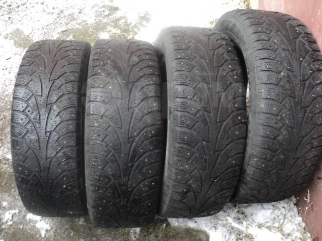 Hankook Winter i*Pike. зимние, шипованные, 2012 год, б/у, износ 60%