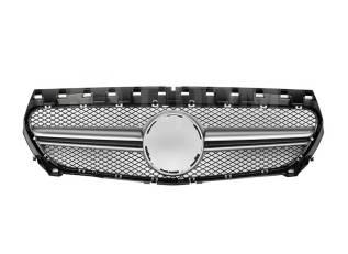 Решетка радиатора. Mercedes-Benz CLA-Class, C117, X117 Двигатели: M133DE20AL, M270DE16AL, M270DE16ALRED, M270DE20AL, OM607DE15LA, OM651DE18LA, OM651DE...