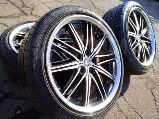 "147113 Колёса разноширокие Work Varianza R18 Dunlop Direzza. 8.5/9.0x18"" 5x114.30 ET48/40"