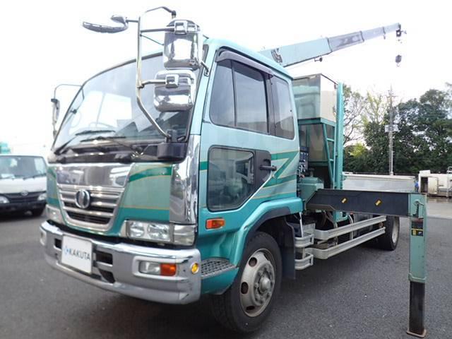 Nissan Diesel Condor. , 8т. воровайка (борт-кран), R19.5 Tadano 3 колена, 7 700куб. см., 8 000кг., 4x2. Под заказ