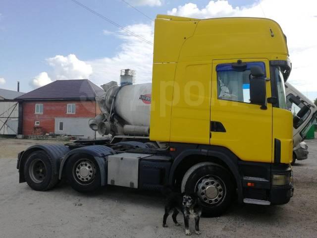 Scania. Тягач Скания 420, 11 700куб. см., 25 000кг., 6x2