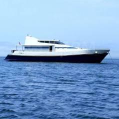 Аренда моторной яхты, катера на борту сауна на дровах, водолаз .