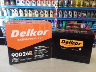 Аккумулятор Delkor 90D26R 80А/h 680А Скидка до 2000 рублей !