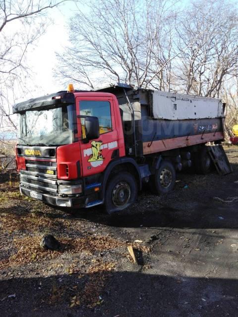 Scania P420. , 11 705куб. см., 26 000кг., 8x4