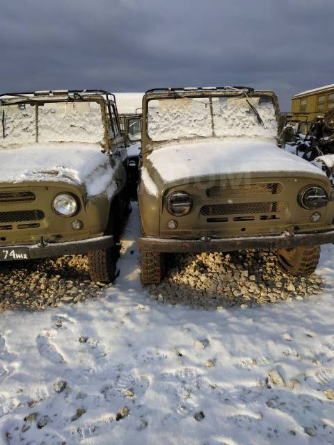 УАЗ 469. 2 400куб. см.