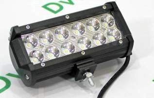 LED Фара дополнительного освещения светодиодная 36 W (17см)