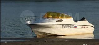 Продам каютный катер Одиссей 530 с мотором ямаха 90.