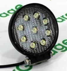 LED Фара светодиодная дополнительного освещения 27W Круглая