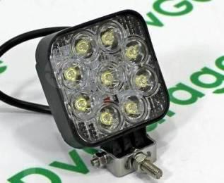 LED Фара светодиодная дополнительного освещения 27W Компактная