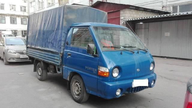 Hyundai Porter. Продам Хундай Портер, 2 500куб. см., 1 000кг.
