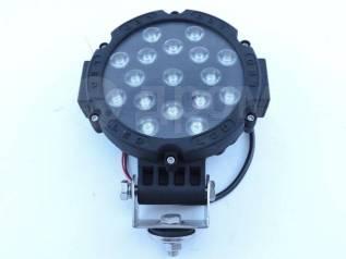 Фара светодиодная серии CH013-51W Универсальная Черная 17 диодов