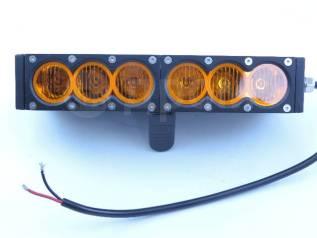 Фара-люстра светодиодная универсальная CH052-60W 6 диодов желтая