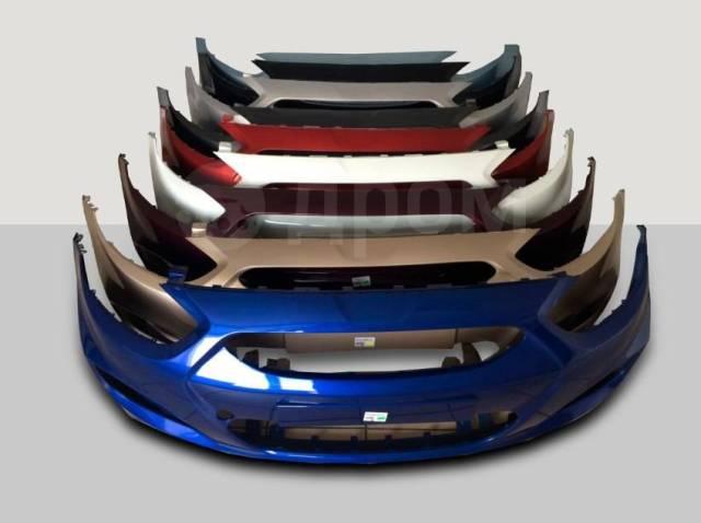Новый окрашенный бампер Hyundai Solaris 2010-2020г. В наличии.