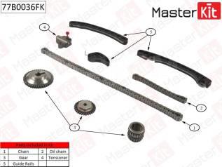 Комплект цепи ГРМ (Master KiT) Nissan: 1.6i HR16DE 10-
