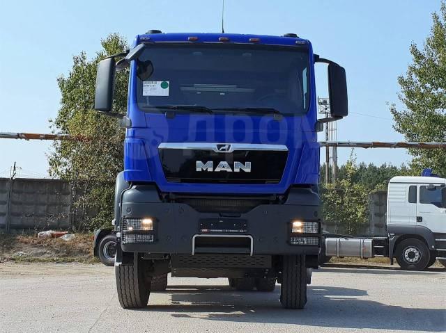 MAN TGS 33.480. Седельный тягач MAN 6x6, 12 500куб. см., 90 000кг., 6x6