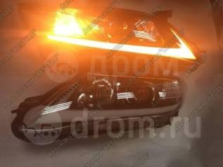 Фары Toyota Camry 40 ( Камри 2009-2011 ) В стиле Lexus Черные