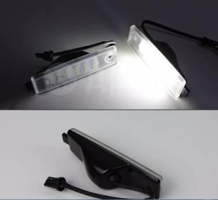 Штатная LED подсветка номера Toyota RAV4 05-12 г. Очень Яркие