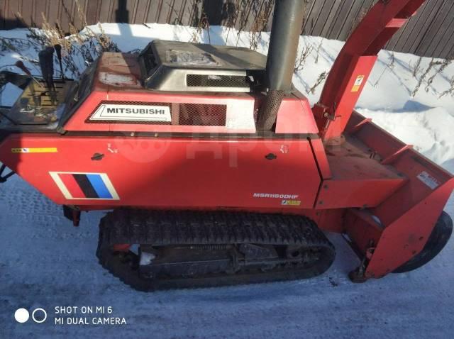 Mitsubishi. Продам снегоуборочную машину, 1 500куб. см.
