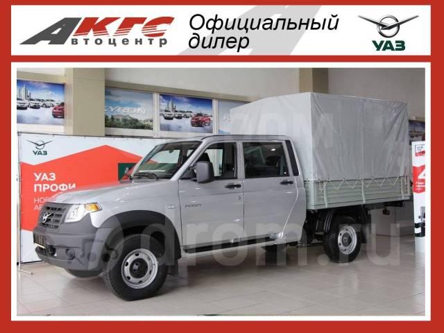 УАЗ Профи. Продается новый с двухрядной кабиной в Красноярске, 2 693куб. см., 1 320кг., 4x4