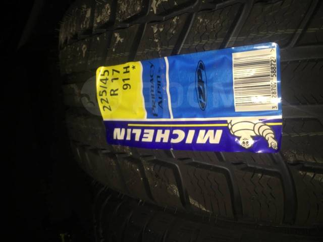Michelin Primacy Alpin PA3, 225x45 R17