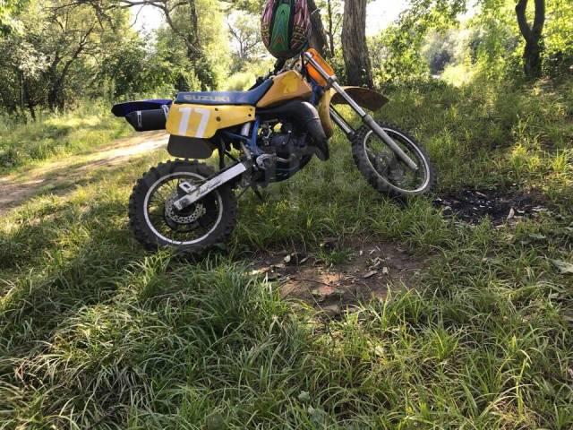 Suzuki RM 80. 85куб. см., исправен, без птс, без пробега