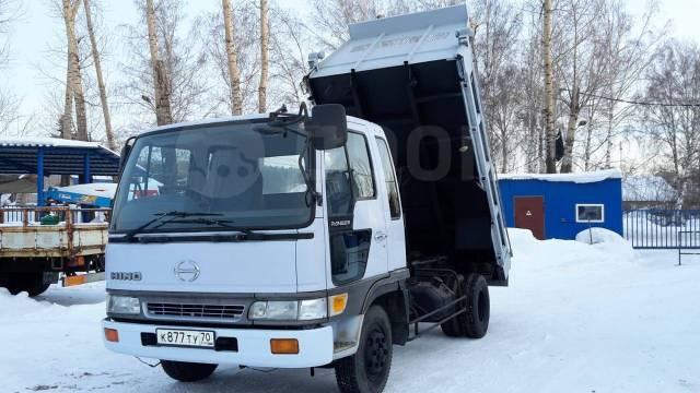 Hino Ranger. Продаётся японский самосвал HINO Ranger бп по РФ, 8 000куб. см., 6 000кг., 4x2