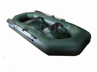 Лодка ПВХ Rusboat 260 PС (реечная слань)