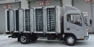 JAC N56. Хлебный фургон на 180 лотков Аналог Isuzu ELF, HINO, 2 771куб. см., 2 645кг., 4x2