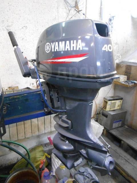 Yamaha. 40,00л.с., 2-тактный, бензиновый, нога S (381 мм), 2016 год
