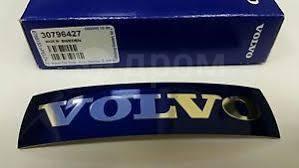 Наклейка на эмблему Volvo