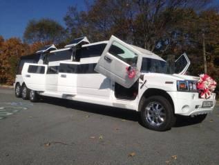 Белый лимузин Hummer Party BUS! Отличный выбор!