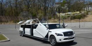 """Лимузин Infiniti QX56 с дверями """"Крылья чайки""""!"""