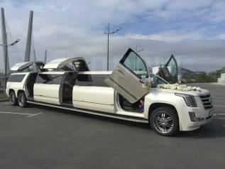 Новый лимузин Cadillac Escalade!