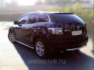 Защита бампера. Mazda CX-7, ER, ER3P Mazda CX-5 L3VDT