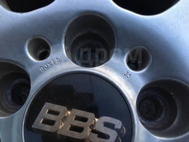 """Кованные диски BBS R18 с жирной резиной!. 8.0/9.0x18"""" 5x114.30 ET35/35"""