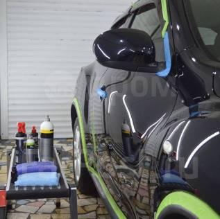 Полировка авто, кузова Детейлинг химчистка авто керамика жидкое стекло