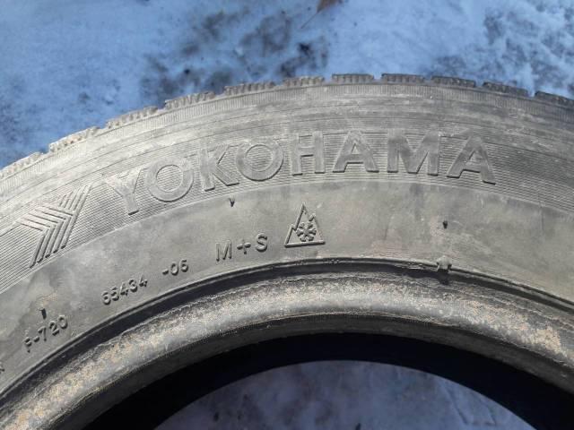 Yokohama Guardex F720. всесезонные, 2001 год, б/у, износ 70%