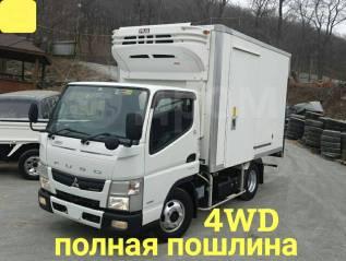 Mitsubishi Fuso Canter. MMC Canter 4WD, рефрижератор 3 тонны, 3 000куб. см., 3 000кг., 4x4