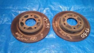 Диск тормозной (задний) Mazda 3, Mazda Axela BL