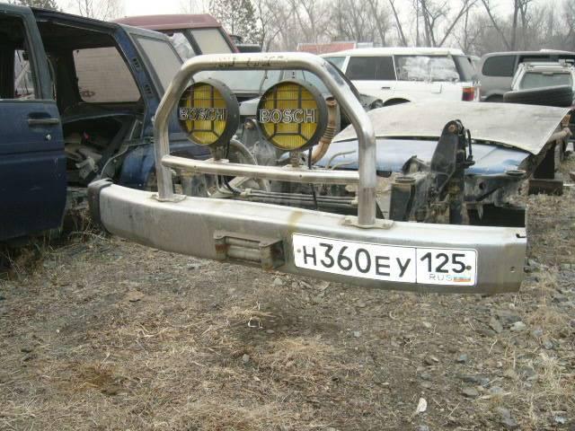 Бампер. Toyota Land Cruiser Prado, LJ78, LJ78G 2LTE