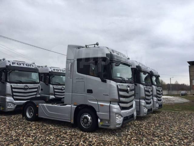 Foton Auman. Магистральный Седельный тягач МТ (Daimler), 4х2, Euro V, 11 800куб. см., 4x2