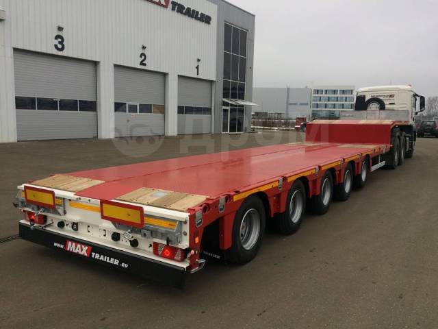 Faymonville. Трал MaxTrailer MAX100-N-5A-9.30, 63 456кг.