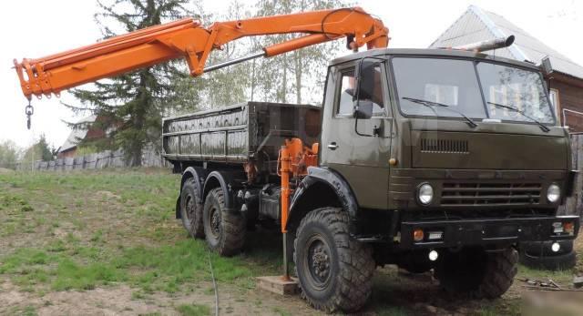 КамАЗ 43105. Продается грузовик Камаз 43105 самосвал с манипулятором, 1 085куб. см., 7 000кг., 6x6