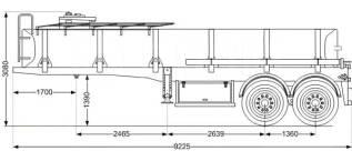 17 м3, полуприцеп цистерна нефтевоз, 2020
