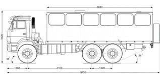 Автобус вахтовый 28 базовая, 2020