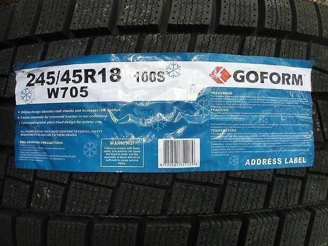 Goform W705, 245/45 R18