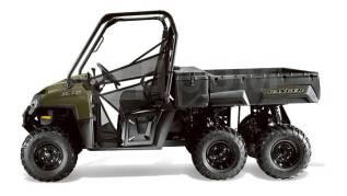 Polaris Ranger 800 6*6, 2017. исправен, есть птс, без пробега